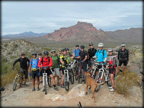Mountain Biking Group 85